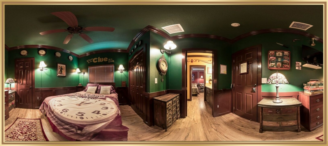 Orlando Area Luxury Rentals LLC proudly presents The Great Escape Lakeside's CLUE Themed Escape Room Game!