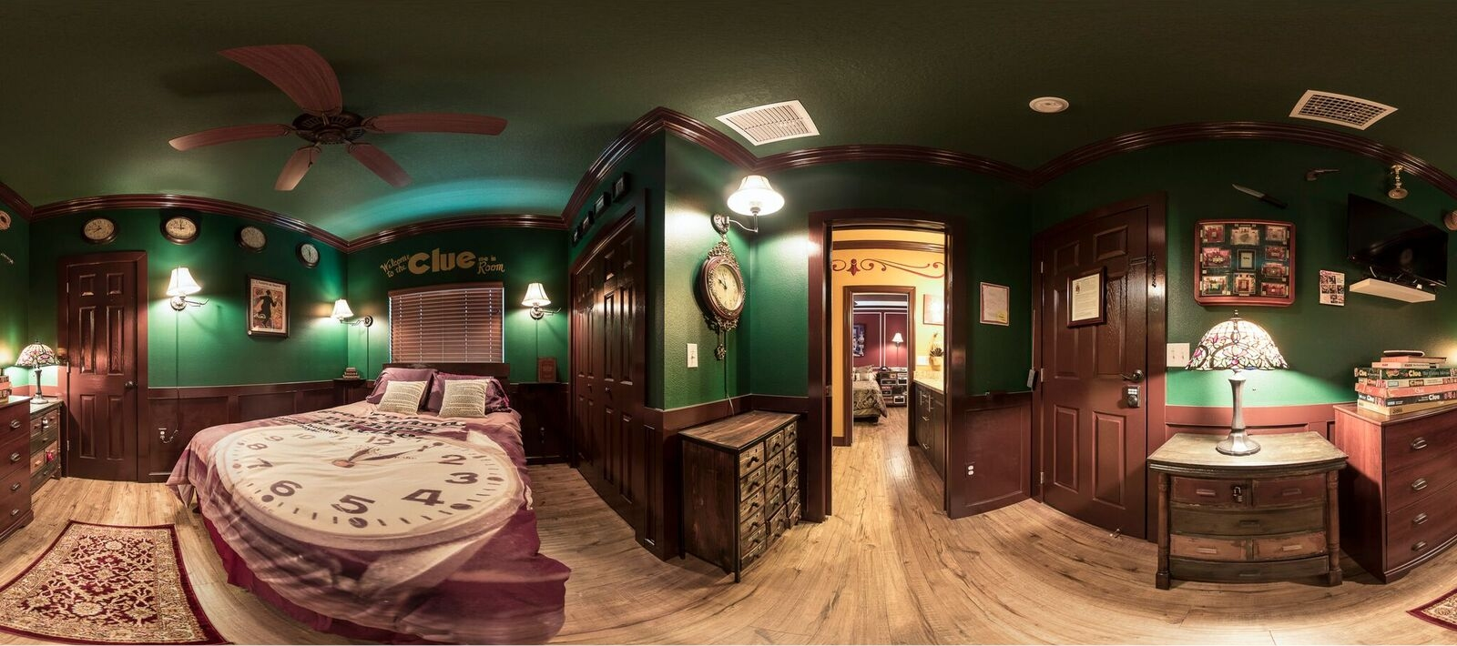 an orlando area escape room inside of a vacation rental