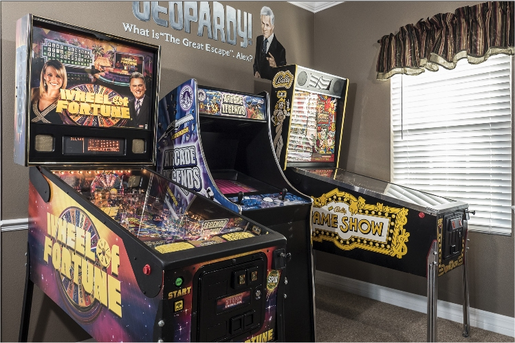 Home arcade game room at the great escape lakeside for The great escape house