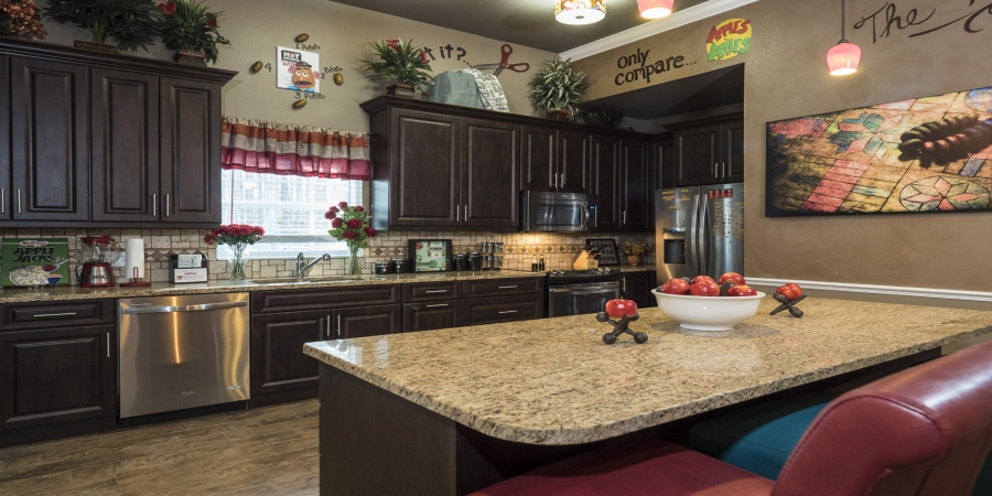 Granite countertops at The Great Escape Lakeside