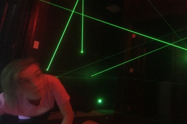 Laser Maze and Laser Tag in The Orlando, FL area - at a vacation home rental!
