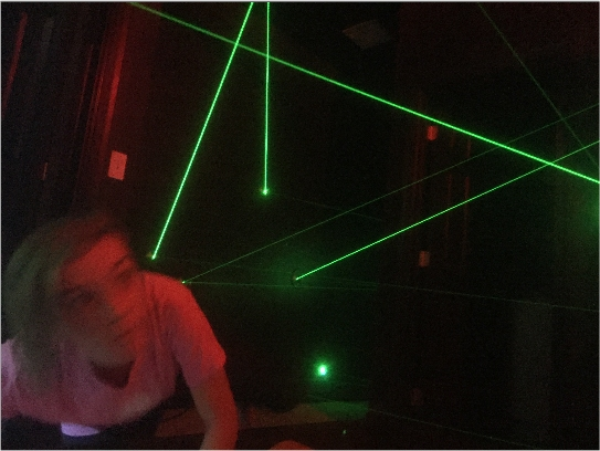 Can you beat The Great Escape Lakeside's laser maze ?