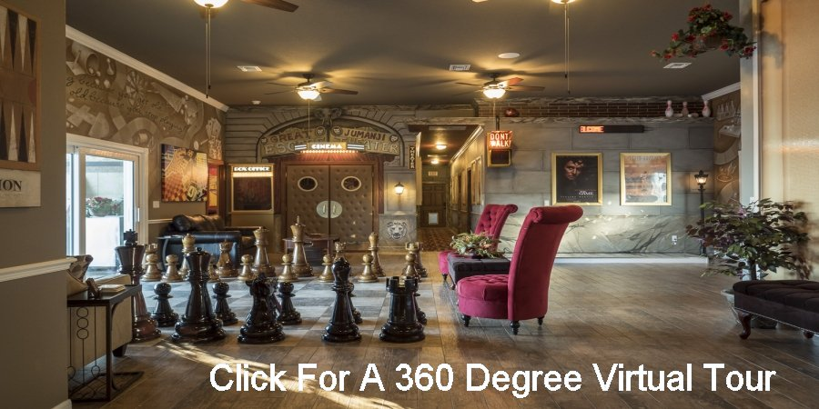 A Formal Living Room With Giant Teak Chess At The Great Escape Lakeside  Near Orlando, Part 22
