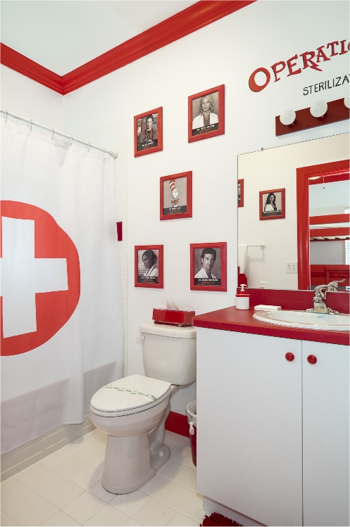 The OPERATION Game Bathroom