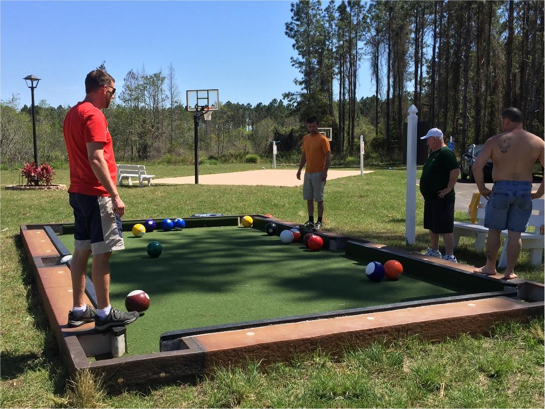 Snookball (Soccer Billiards) at The Great Escape Lakeside near Orlando, FL