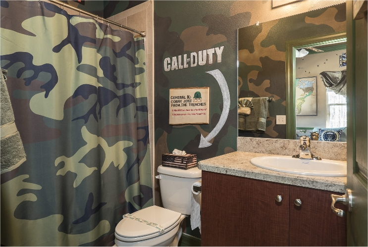War Games Bathroom